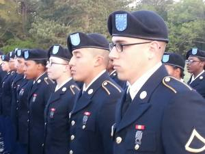 Jairen in uniform